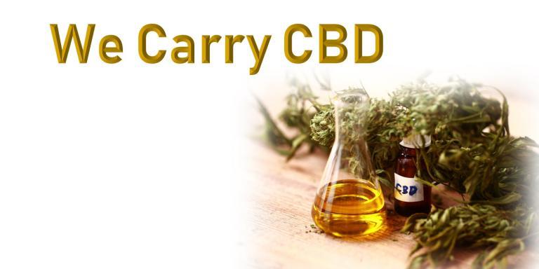 we carry cbd